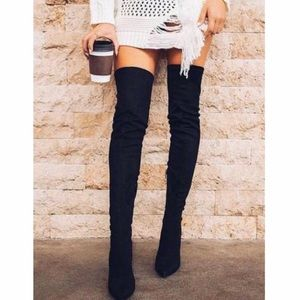 Cape Robbin Sexy Over The Knee Boots